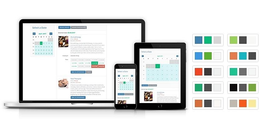 Responsive and Colorful Layout